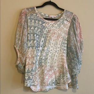 Anthropologie, Eri+Ali Brand, Shirt.